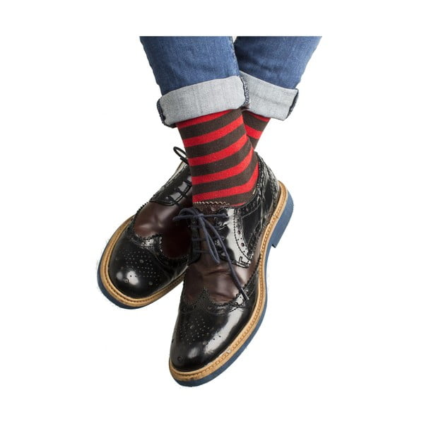 Sada 4 párov unisex ponožiek Funky Steps Licia, veľkosť 39/45