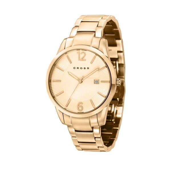 Pánske hodinky Cross Gotham Champagne/Gold, 41 mm