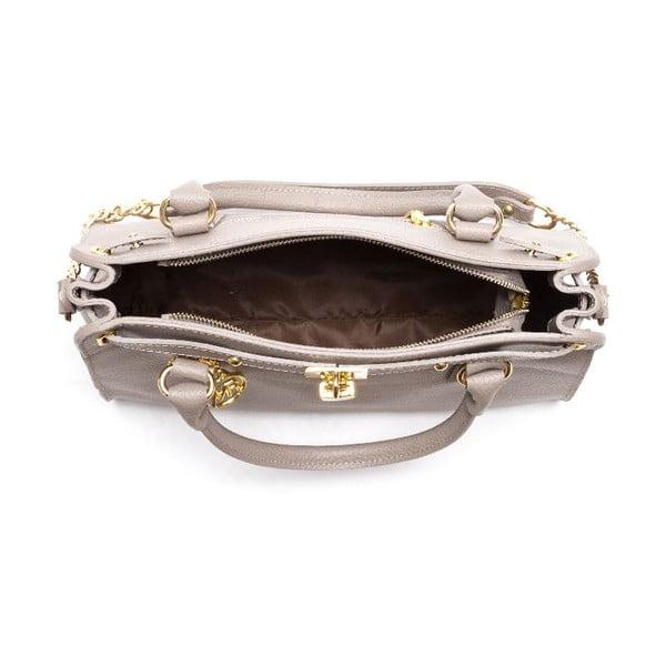 Kožená kabelka Roberta M 199 Fango