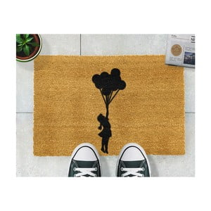 Rohožka Artsy Doormats Flying Balloon Girl, 40 × 60 cm