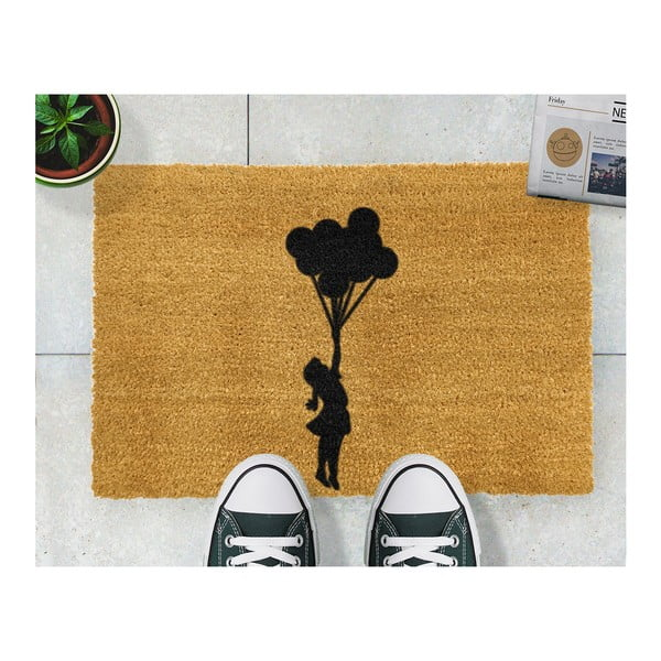 Rohožka Artsy Doormats Flying Balloon Girl, 40 x 60 cm