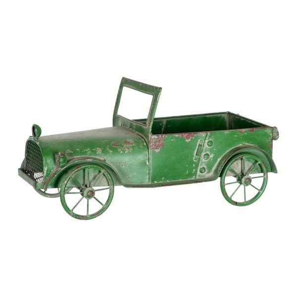 Dekorácia Car Antique, zelená
