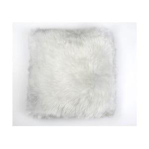 Kožušinový vankúš Ivory, 50x50 cm
