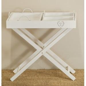 Rozkladací stolík s 3 podnosmi Vassoi
