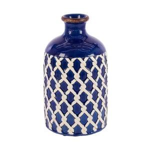 Keramická váza InArt Seaside, modrá