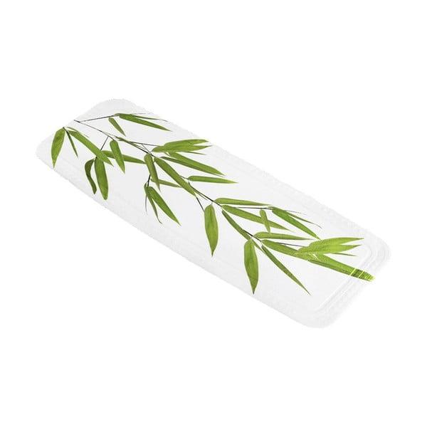 Kúpeľňová predložka Bamboo Green, 36x92 cm