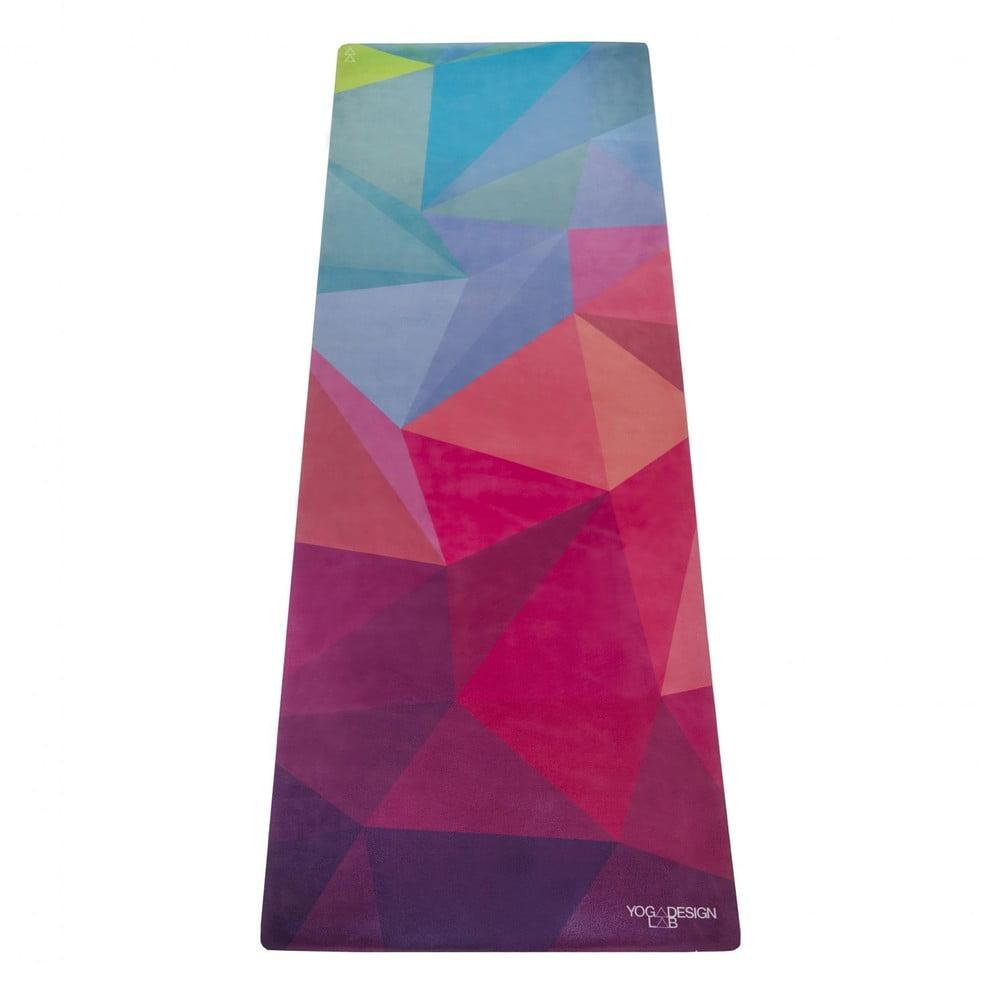 Podložka na jogu Yoga Design Lab Travel Geo, 900 g