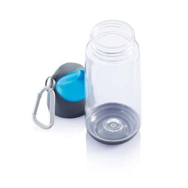 Modrá fľaša s karabínkou XDDesign Mini Bopp