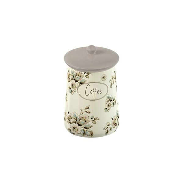 Porcelánová dóza na kávu  Cottage Flower
