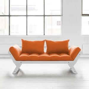 Pohovka Karup Bebop Cool Grey/Orange