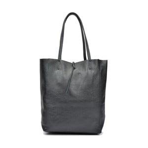 Čierna kožená kabelka Sofia Cardoni Patula