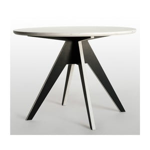 Stôl Edi Black, 85 cm