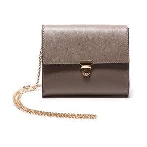 Hnedá kožená kabelka Roberta M Fango