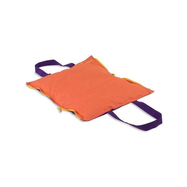 Skladací sedák Hhooboz 50x60 cm, fialový
