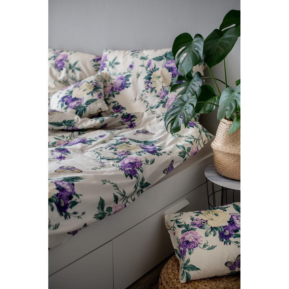 Bavlnené obliečky Cotton House Violeta, 140 x 200 cm