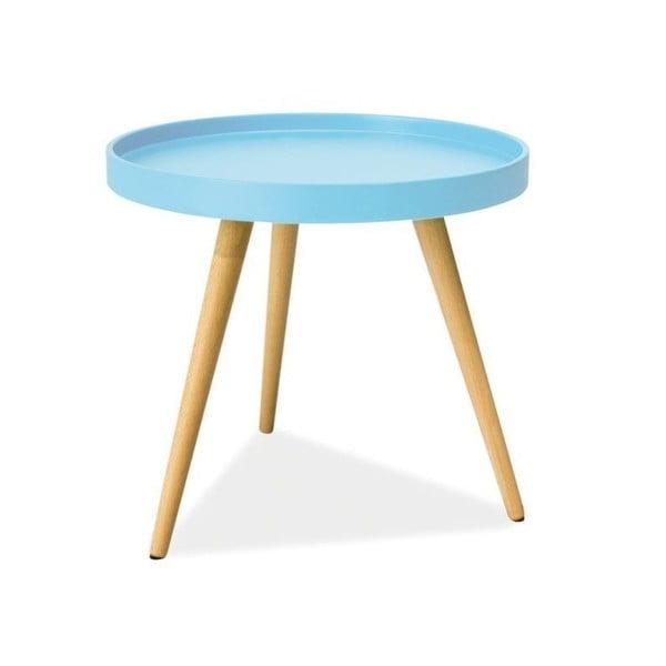 Konferenčný stolík Toni 50 cm, modrý