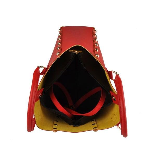 Kabelka Classe Regina Yellow Red T 103