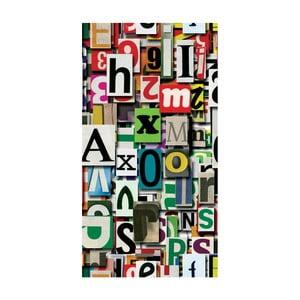 Odolný behúň Vitaus Alphabet, 80×200 cm