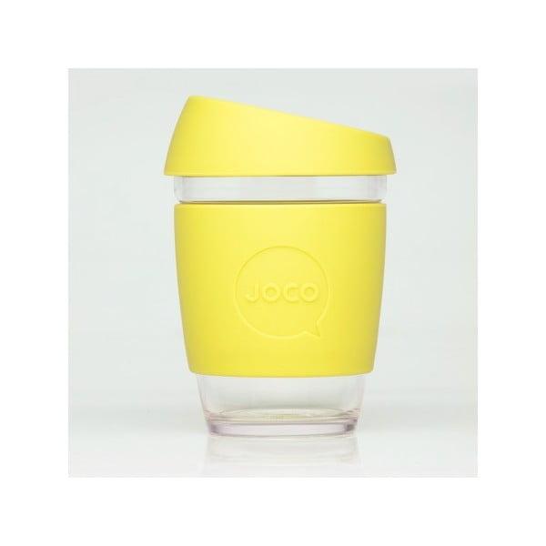 Eko hrnček na kávu Joco Cup 340 ml, žltý