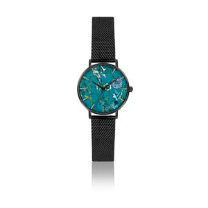 Dámske hodinky s remienkom v čiernej farbe Emily Westwood Gardenia