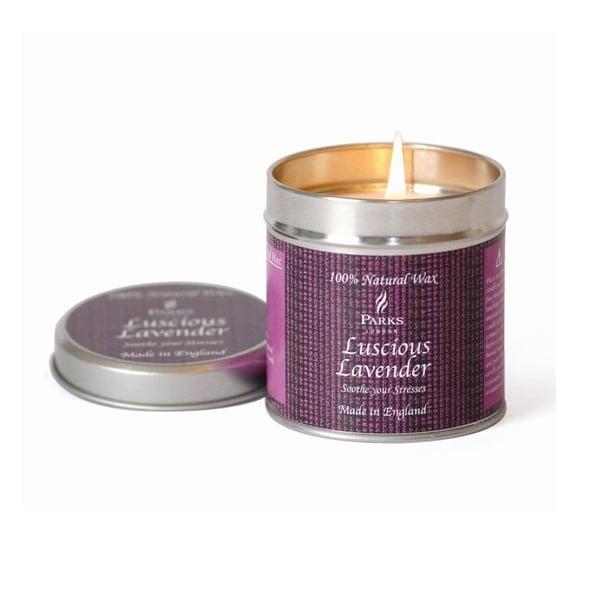 Sviečka Scenterd Candles, Luscious Lavender, 50 hodin horenia