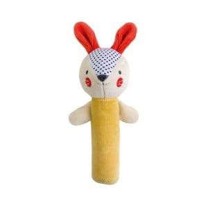Pískacia hračka Petit collage Bunny