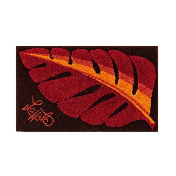 Kúpeľňová predložka Leaf Soft, 60x100 cm