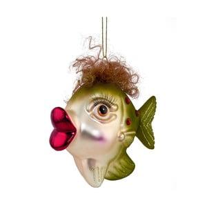 Vianočná závesná ozdoba zo skla Butlers Rybička