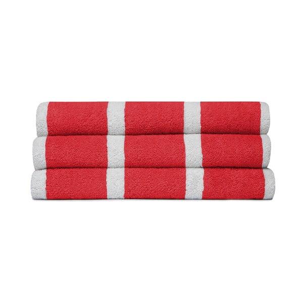Set 3 uterákov Menton Red, 60x110cm