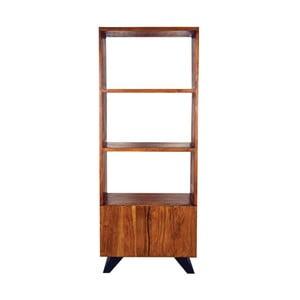 Knižnica z akáciového dreva LABEL51