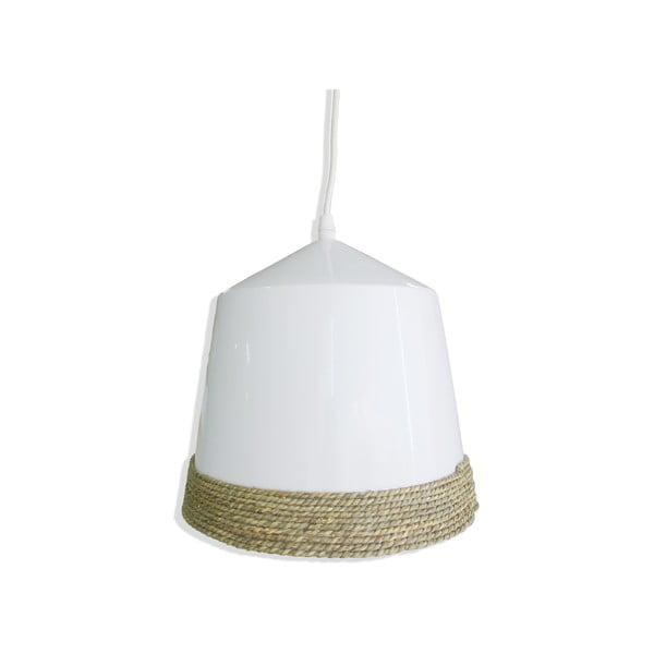Závesné svetlo Ceramic Rope