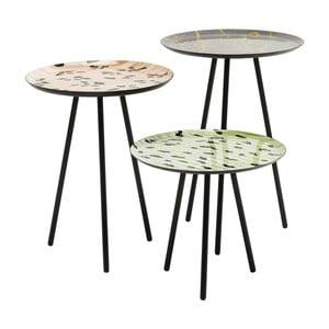 Sada 3 odkladacích stolíkov Kare Design Tifi