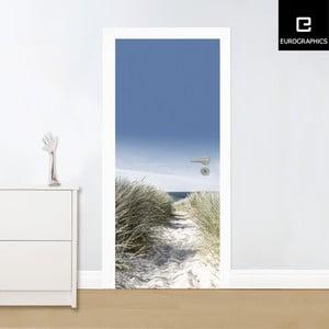 Samolepka na dvere Eurographics Beach