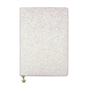 Ružový zápisník A5 GO Stationery All That Glitters Chammpagne