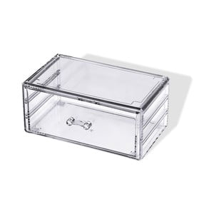 Transparentný úložný organizér na šperky Compactor miesil