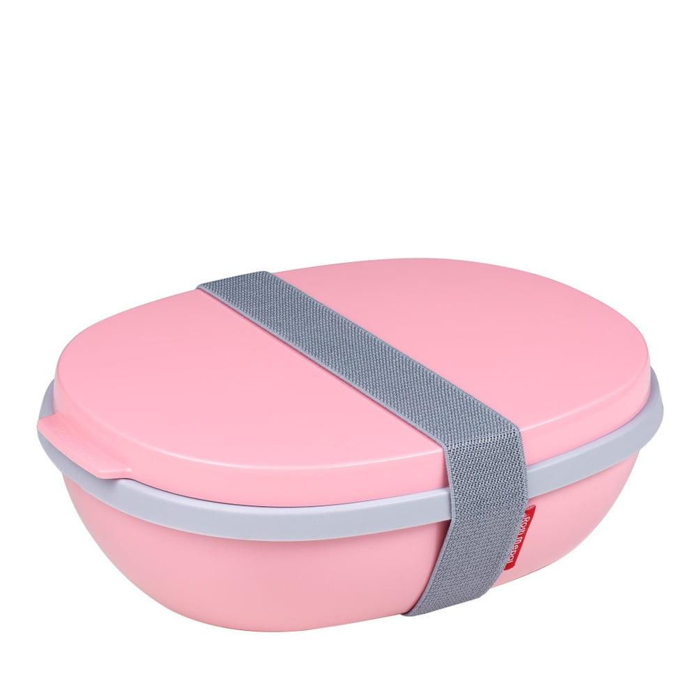 Ružový obedový box Rosti Mepal Ellipse