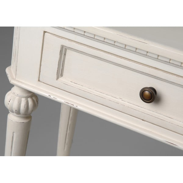 Konzolový stolík s dvomi zásuvkami Leonie