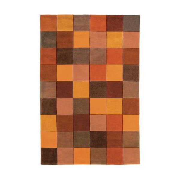 Koberec Asiatic Carpets Eden Pixel Terracotta, 60x120 cm