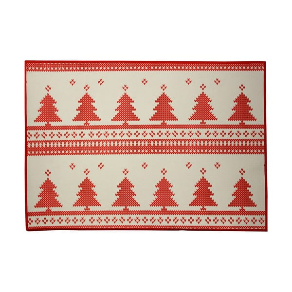 Vianočné prestieranie Christmas Knitting