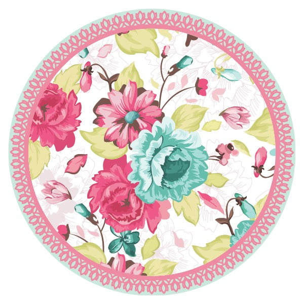 Sada 2 prestieraní Nisha Flower Mix