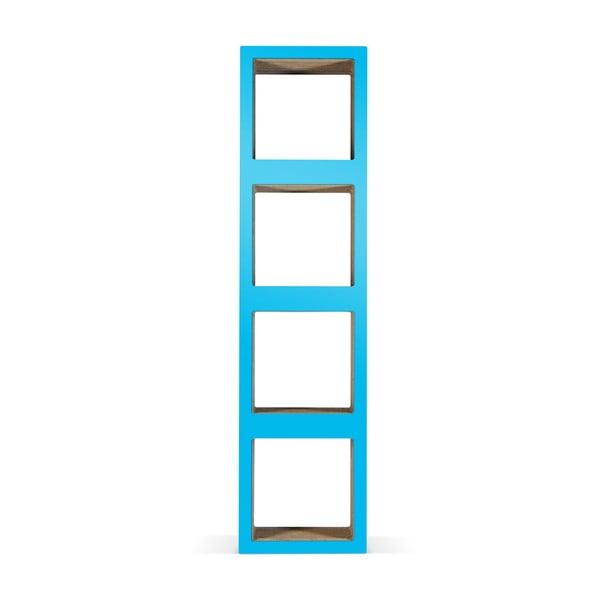 Kartónová knižnica Bit Quattro Blue