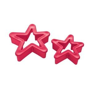 Sada 2 červených vykrajovátiek Koziol Star