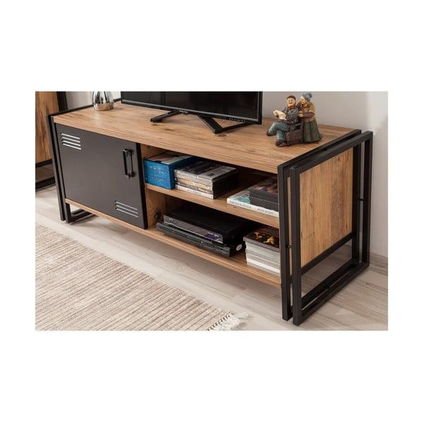 Televízny stolík Hakaro, dĺžka 130 cm