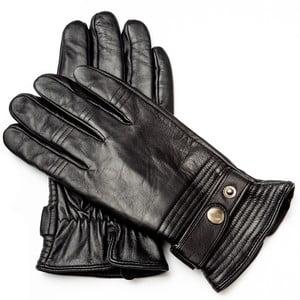 Pánske čierne kožené rukavice Pride & Dignity Dennis, veľ. XL
