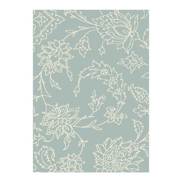 Koberec Asiatic Carpets Xico Scroll Duck Egg, 120x170 cm