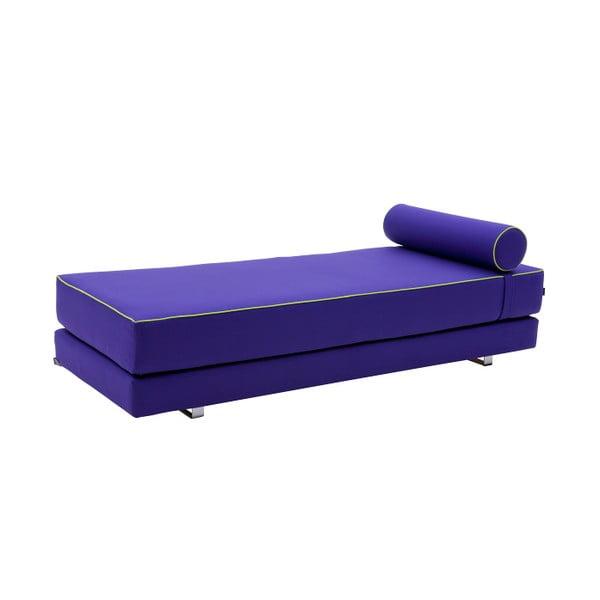 Fialová rozkladacia sedačka Softline Lubi