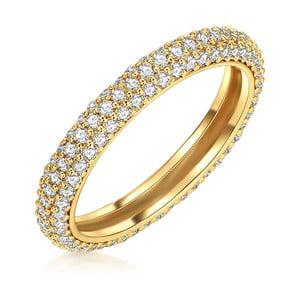 Dámsky prsteň zlatej farby Runaway Troiano, 58