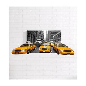 Nástenný 3D obraz Mosticx Taxi, 40 x 60 cm