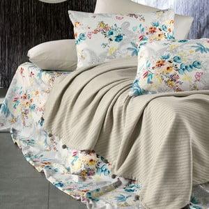 Sada posteľnej bielizne zo 100% bavlny Marie Lou Garden Champagne