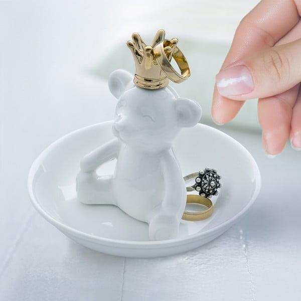 Stojanček na prstienky Medvedík